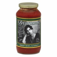 Dell A'more Sweet Basil and Garlic Pasta Sauce 25 oz [014886500059]