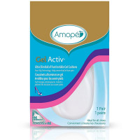 Amope Pedi Perfect GelActiv Ultra Slim Ball of Foot Invisible Gel Cushion 1 ea [051400961989]