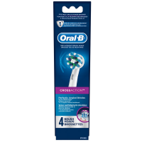 Oral-B Cross Action Brush Head Refills 4 ea [069055125649]