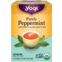 Yogi Herbal Tea Bags, Purely Peppermint 16 ea [076950450479]