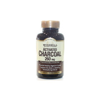 Windmill Natural Vitamins Activated Charcoal 260mg, 100 ea  [035046002954]