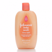 JOHNSON'S Baby Wash, Honey Apple 15 oz [381371029334]
