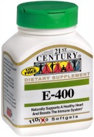 21st Century E-400 Softgels 110 Soft Gels [740985212455]