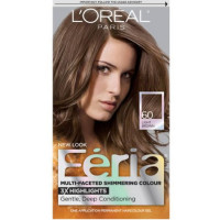 L'Oreal Feria Multi-Faceted Shimmering Color, 60 Light Brown, 1 ea [071249230107]