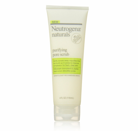 Neutrogena Naturals Purifying Pore Facial Scrub 4 oz [070501025161]