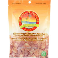 Reed's Ginger Brew Crystallized Ginger Candy 3.5 oz [008274123456]
