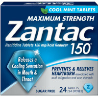 Zantac 150, Cool Mint 24 Tablets [681421032025]