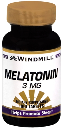 Windmill Melatonin 3 mg Tablets 100 Tablets [035046003906]