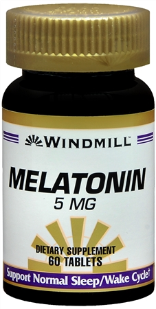 Windmill Melatonin 5 mg Tablets 60 Tablets [035046003937]