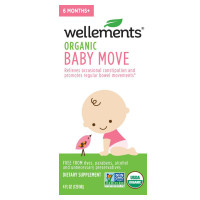 Wellements Baby Move Prune Concentrate with Prebiotics Liquid 4 oz [729609019878]