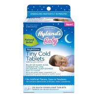 Hyland's Baby Nighttime Tiny Cold Tablets,  125 ea [354973325210]