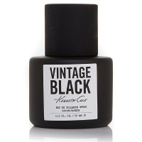Kenneth Cole Vintage Black Eau De Toilette Spray for Men 0.50 oz [608940555446]