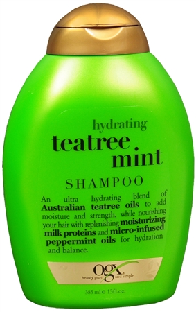 Organix Hydrating Tea Tree Mint Shampoo 13 oz [022796910141]