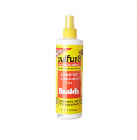 Sulfur8 Medicated Anti-Dandruff Conditioner for Braids, Spray 8 oz [075610445107]
