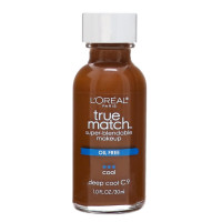 L'Oreal Paris True Match Super-Blendable Makeup, Deep Cool [C9] 1 oz [071249220351]