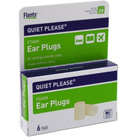 Flents Quiet! Please Foam Ear Plugs 6 Pairs [023185081459]