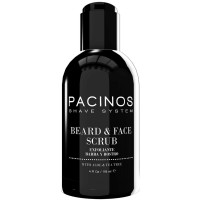 Pacinos Beard & Face Scrub Aloe & Tea Tree 4 oz [850989007015]