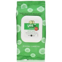 Yes to Cucumbers Soothing Hypoallergenic Facial Wipes 30 ea [813866011031]
