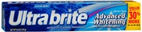 Ultra brite Advanced Whitening Toothpaste Clean Mint 6 oz [035000566850]