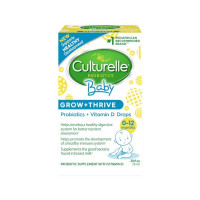 Culturelle Baby Grow + Thrive, Probiotic + Vitamin D Drops, 0.30 oz  [049100400532]