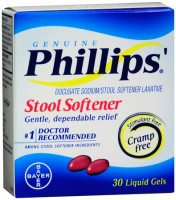 Phillips' Stool Softener Liquid Gels 30 Liquid Gels [312843035201]