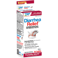 The Relief Products Diarrhea Relief Homeopathic Fast Dissolving Tablets 50 ea [858961001297]