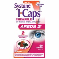 ICAPS Areds2 Eye Vitamins Chewable Tablets, Berry 60 ea [300658048035]