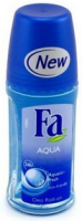 FA 24 Hour Roll-On Deodorant, Aqua 1.7 oz [4015000280235]