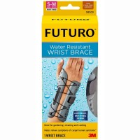 FUTURO Water Resistant Wrist Brace for Right Hand, Small/Medium 1 ea [051131193611]