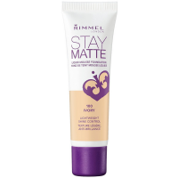 Rimmel London Stay Matte Liquid Mousse Foundation, Ivory [100] 1 oz [3607342675773]