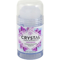 Crystal Mineral Deodorant Stick, Unscented 4.25 oz [086449300031]