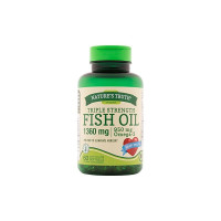 Nature's Truth Triple Strength Fish Oil 1360 mg Capsules, 60 ea [840093101303]