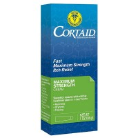 CORTAID Fast Maximum Strength Itch Relief Cream 1 oz [301875521011]