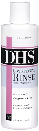 DHS Conditioning Rinse Fragrance Free Extra Body 8 oz [300960726089]