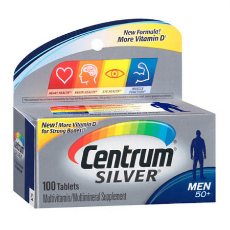 Centrum Silver Men's 50+ Tablets 100 Tablets [300054758507]