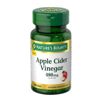 Nature's Bounty Apple Cider Vinegar, 480 mg,  200 ea [074312785702]