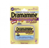 Dramamine for Kids Chewable Tablets, Grape Flavor 8 ea [831248003016]