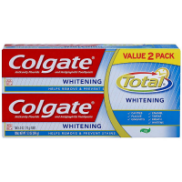Colgate Total Whitening Gel Toothpaste, Twin Pack 6 oz, 2 ea [035000741400]