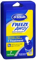 Dr. Scholl's Freeze Away Wart Remover 7 Each [311017405321]