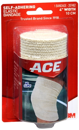 ACE Self-Adhering Bandage 4 Inches 1 Each [382902074625]