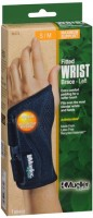 Mueller Green Fitted Wrist Brace SM/MD Left [86272] 1 Each [074676862729]