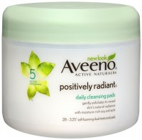 AVEENO Active Naturals Positively Radiant Daily Cleansing Pads 28 Each [381370013105]