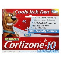 Cortizone-10 Anti-Itch Children's Cooling Cream 1 oz [041167003169]