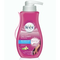 Veet Gel Hair Remover Cream, Sensitive Formula, 13.5 oz [062200809951]