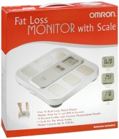 Omron Fat Loss Monitor With Scale Model HBF-400 1 Each [073796826406]