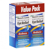 Bausch & Lomb Advanced Eye Relief Maximum Redness Reliver, Value Pack, 0.5 oz [310119022252]