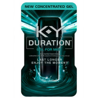K-Y Duration Gel for Men - Last Longer & Enjoy The Moment, 36 pumps, Male Genital Desensitizer 0.16 oz [067981967500]