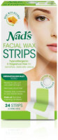 Nad's Facial Wax Strips 24 Each [638995001933]