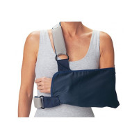 "ProCare 79-84168 Shoulder Immobilizer with Foam Straps, X-Large, 10"" Envelope Size Depth, 20"" Length 1 ea [888912032735]"