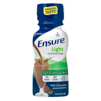 Ensure Light Nutrition Shake Milk Chocolate, 6 ea [070074641225]